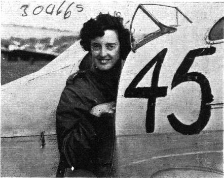 Miss Freydis Leaf - British Air Racing Champion 1954
