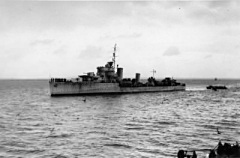 HMS Eclipse at Scapa Flow