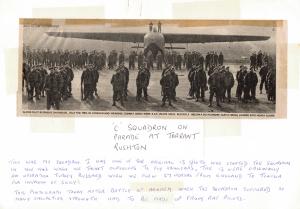 C Squadron on Parade - Photo