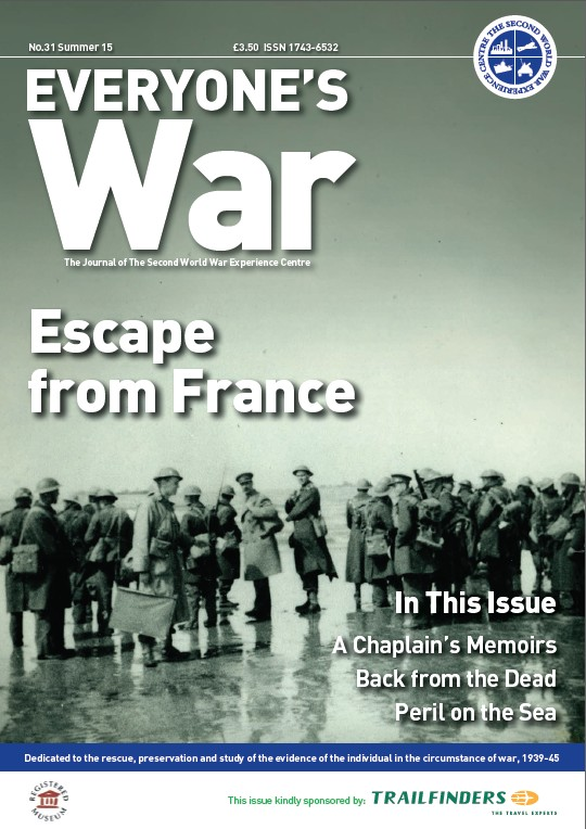 Cover of Everyones War Issue 31