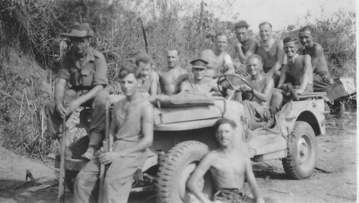 HQ Troop, 24 Btty Burma 1944