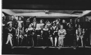Peter Peel - Cpol - British Army, with Cast from 12th Night