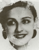 A photograph of Janina taken in the Warsaw Ghetto, 1942.