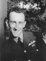 Flight Lieutenant James 'Sandy' Sanders DFC in 1940. [Author]