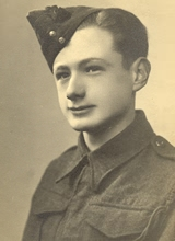 George in the Home Guard aged 17