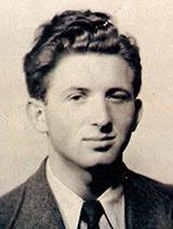 David Kaye in 1950, aged 22.