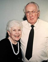 Merrill and Edna, taken at a family reunion Summer 2003