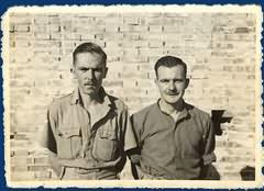 Bdr E Stonard and Trp W Parkes, Carpi 1943