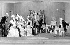 "A camp theatre production: ""A School for Scandal"" Oflag 79, Brunswick, 1944"