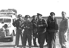 On the road to Benghazi 1942