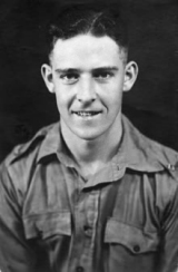Photograph of John Wyatt taken during jungle training at Alor Star, Malaya, November 1940