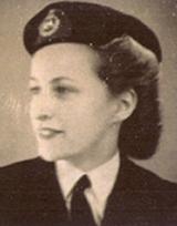 Cora Jarman (nee Pounds) 1944-46 WRNS